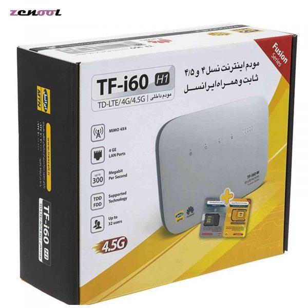 مودم 4G-TD-LTE ایرانسل مدل TF-i60-5